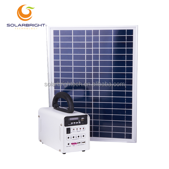 Portable small house emergency solar energy power lighting home system off grid panel solar cell <strong>kit</strong>