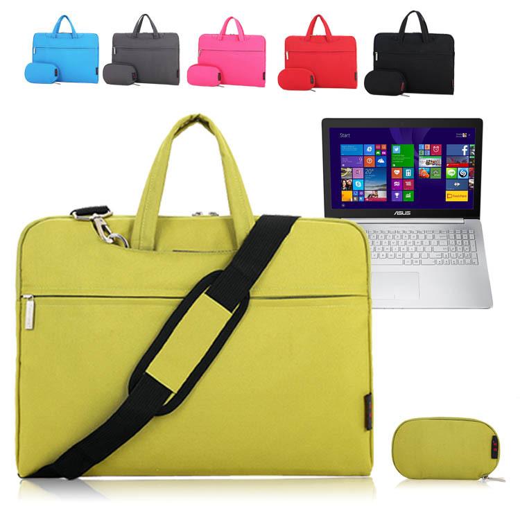 For ASUS ZenBook Pro UX501 15.6 inch Notebook Laptop Shoulder Bag Soft Pouch Zipper Sleeve Protective Case Briefcase Messenger