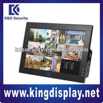 Dahua 8channels Cif G.711 Standalone Dvr With 10 Inch Lcd Display ...