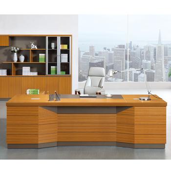 2018 Modern Design Office Desk Semi Circle Office Desk Executive Desk For  CEO