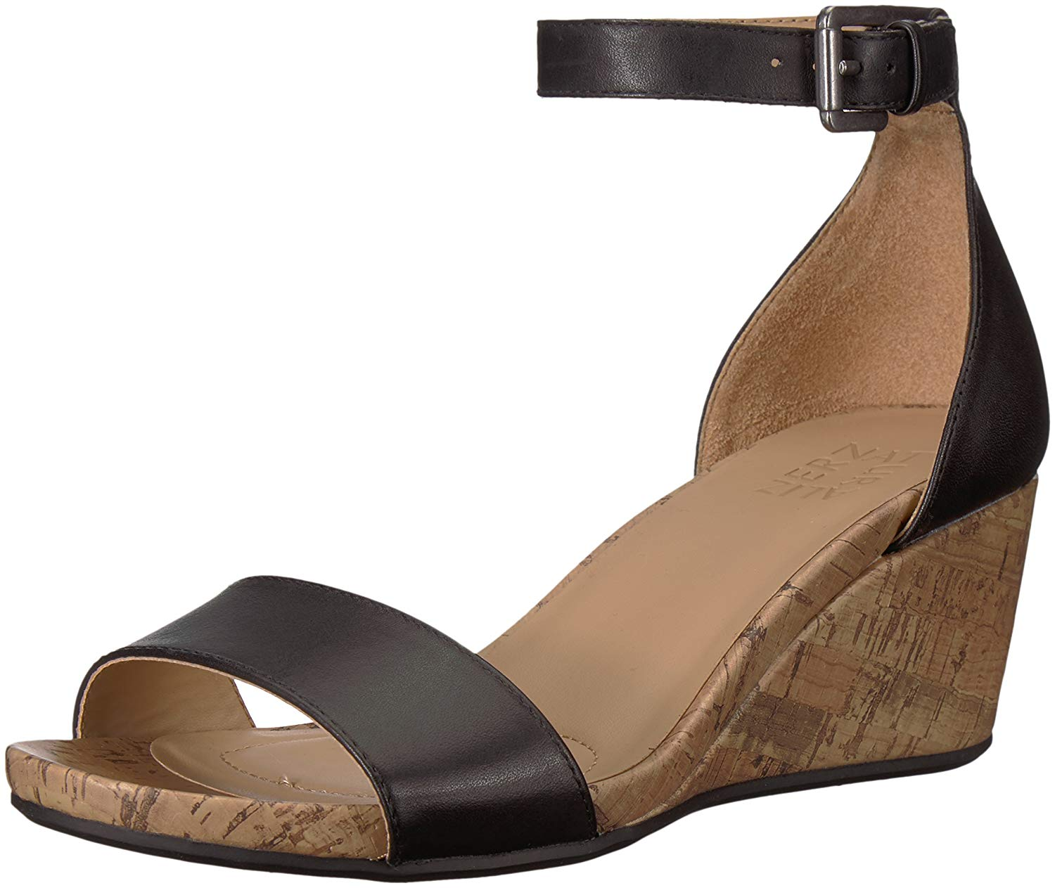 ddb95c92e01b Get Quotations · Naturalizer Women s Cami Wedge Sandal