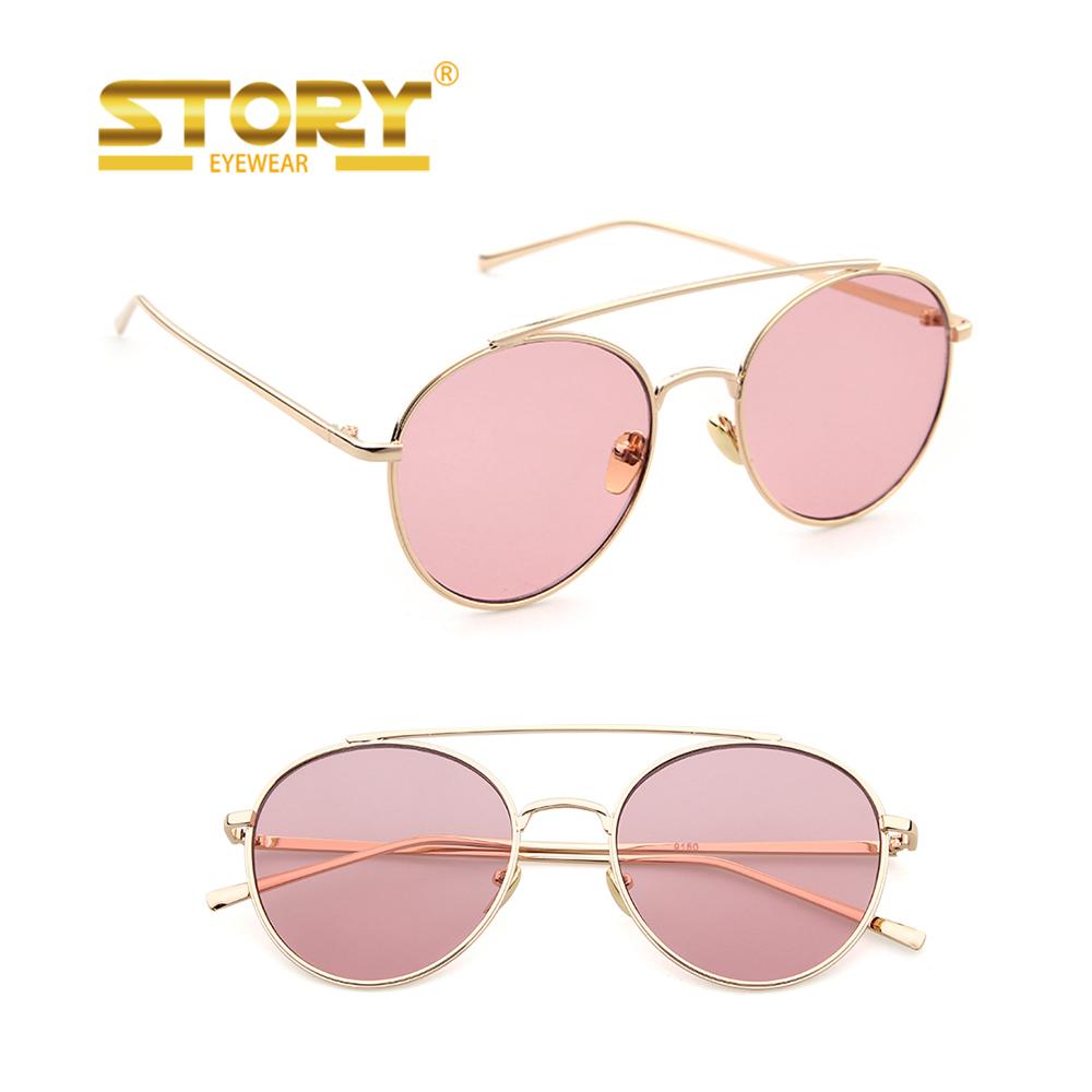 Venta al por mayor anteojos de sol para cara redonda-Compre online ...
