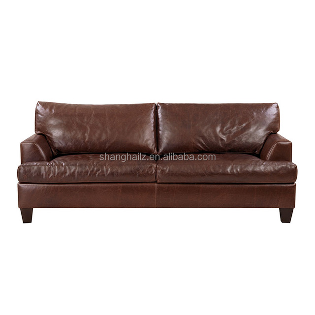 Doube Seat Sofa Two Seate Luxury Nordic Type Living Room Furniture Genuine Leather