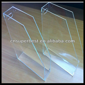 Clear Desktop Perspex Acrylic Magazine File Holder Buy Acrylic Cool Clear Plastic Magazine Holders
