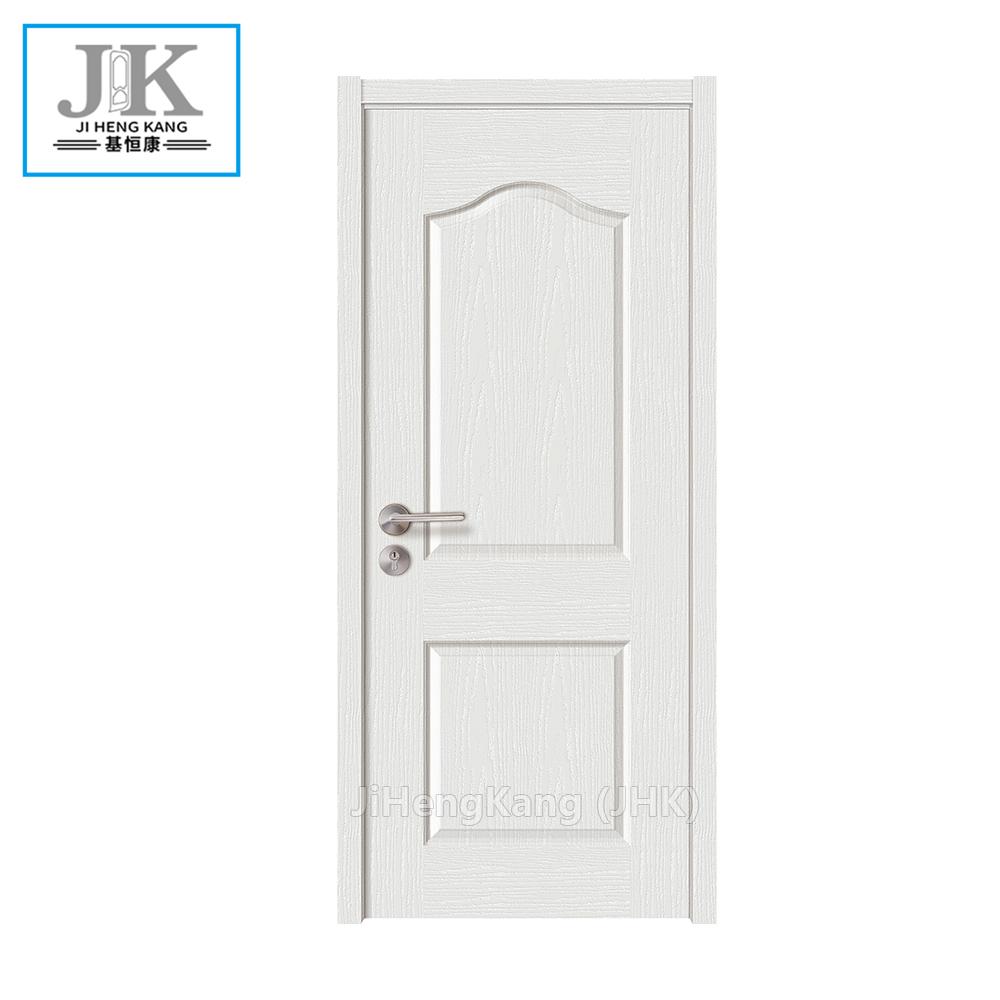 Jhk Pre Painted White Interior Doors Plain Bathroom Door Laminate Product