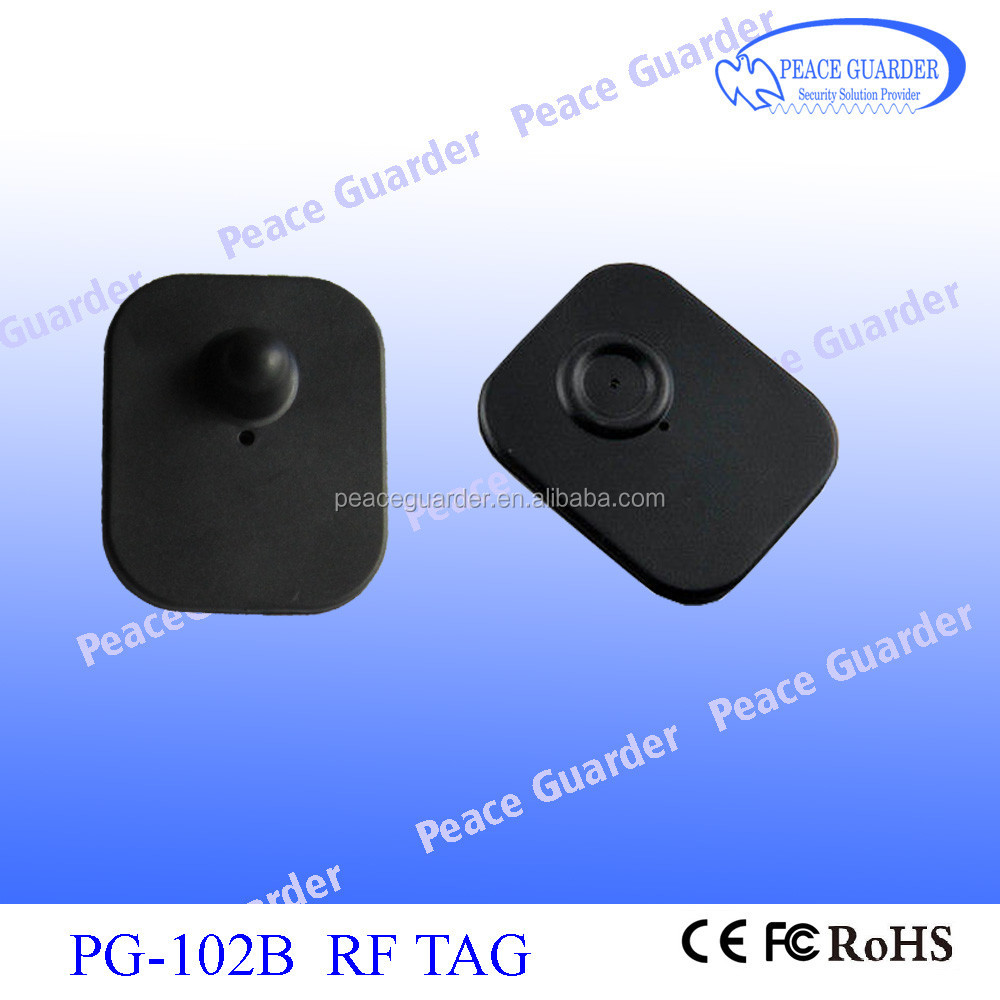 RF ABS standard RF Hard Tag , Professional factory for security product PG-102B