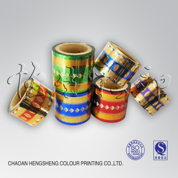 pvc twist packaging film for candy wrapper