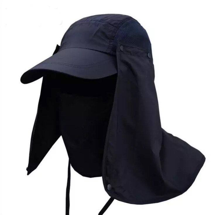 360 UV Sun Protection Fishing Cap Hat With Neck Cover Ear Flap