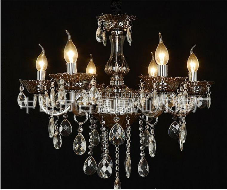 Retail And Wholesale Candle Glass Chandelier Pendant Light,Morden ...