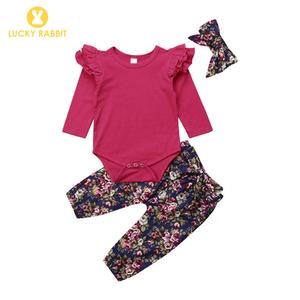5f02b8d26085 Infant Newborn Plain Red Long Sleeve Onesie Baby Onesie 18 Months Puff  Sleeve Baby Rompers Custom