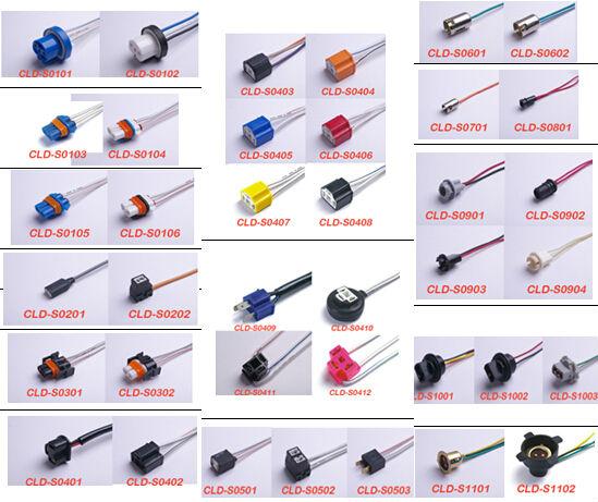 Fit For T10/w5w/194/168/t152x Car Socket Xenon Led Light Bulb ...
