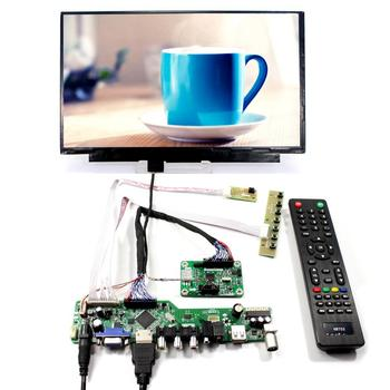 TV PC HDMI CVBS RF USB LCD control board with 11.6inch N116HSE-EJ1 1920x1080 IPS LCD panel