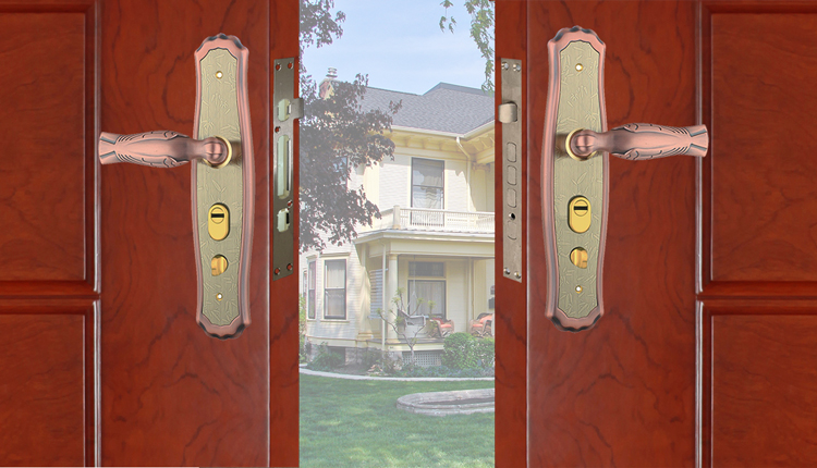 Classical Small Size Antique Brass Door Lock For Apartment Buy Door Lock Door Handles With