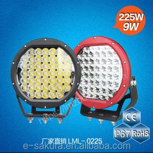 LML-0225P LED work lights off-road spotlights Cylinder Shape car lights high-power conversion lights 225w