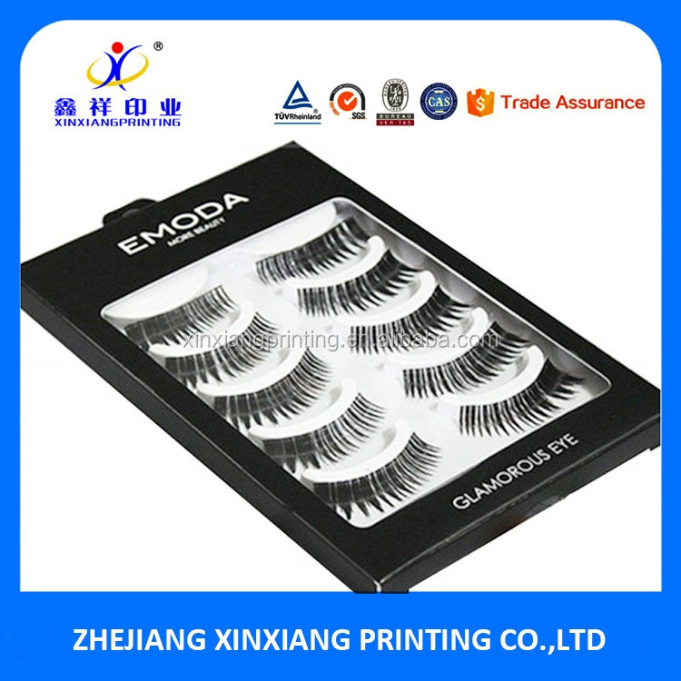 Modische Kosmetikbox des Kunden False Eyelash Packaging Box