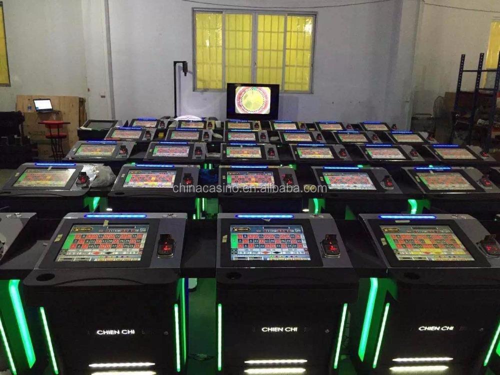 17 pollice di tocco display lcd da tavolo della roulette casino slot machine gioco d 39 azzardo - Il tavolo della roulette ...