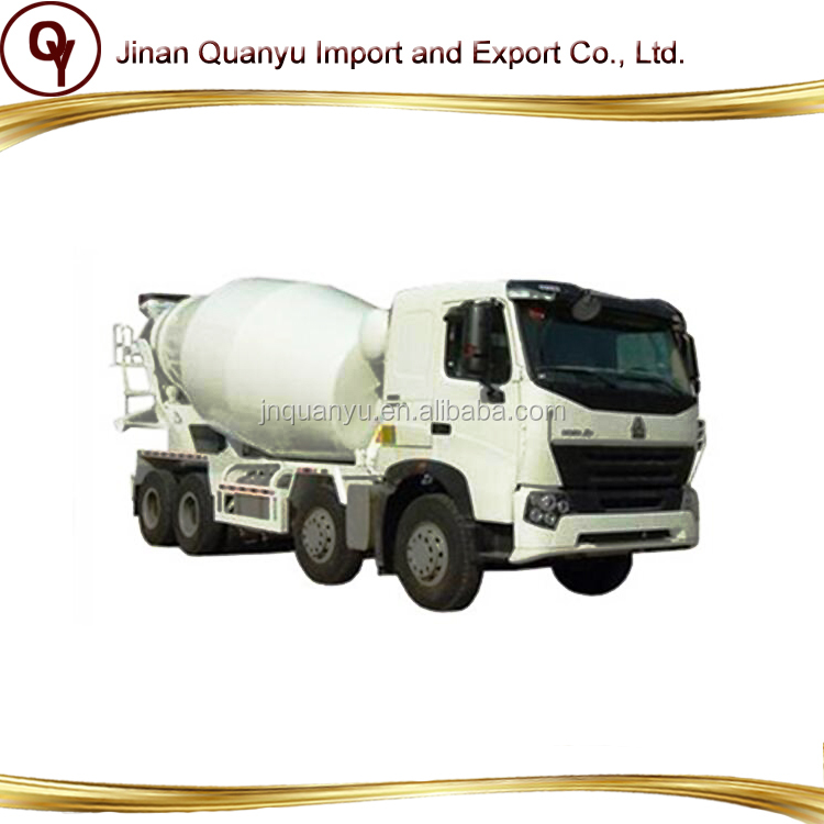 China best Concrete Howo Mixer Truck 8x4 price for sale