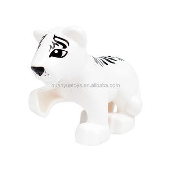 Bosque De Animales De Granja Tigre Modelos Duploe Cifras Compatible
