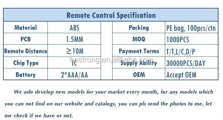 Led Lcd Tv Universal Remote Control South America F-188