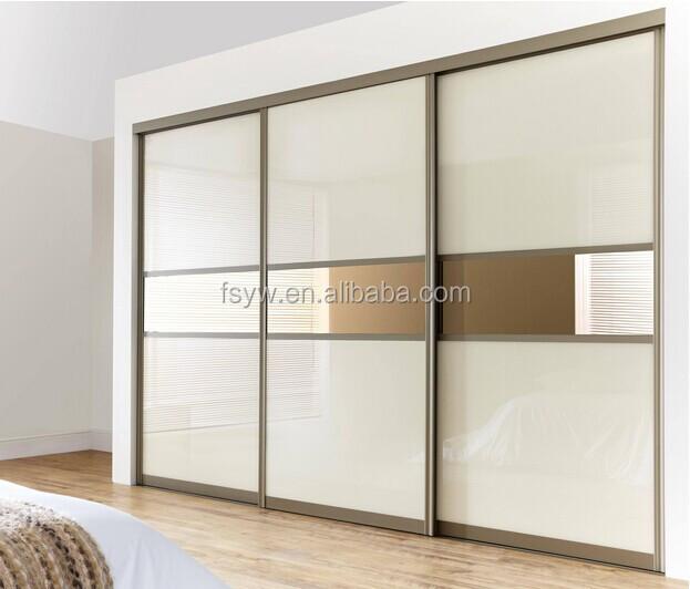 Armario 3 puertas correderas paneles combinados puertas for Puertas para dormitorios