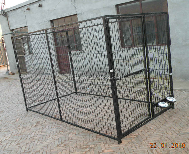 factory direct dog kennel metal dog run manufacturer