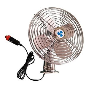 Mini Dashboard Electric Car Fan 6 Inch Blades 12V