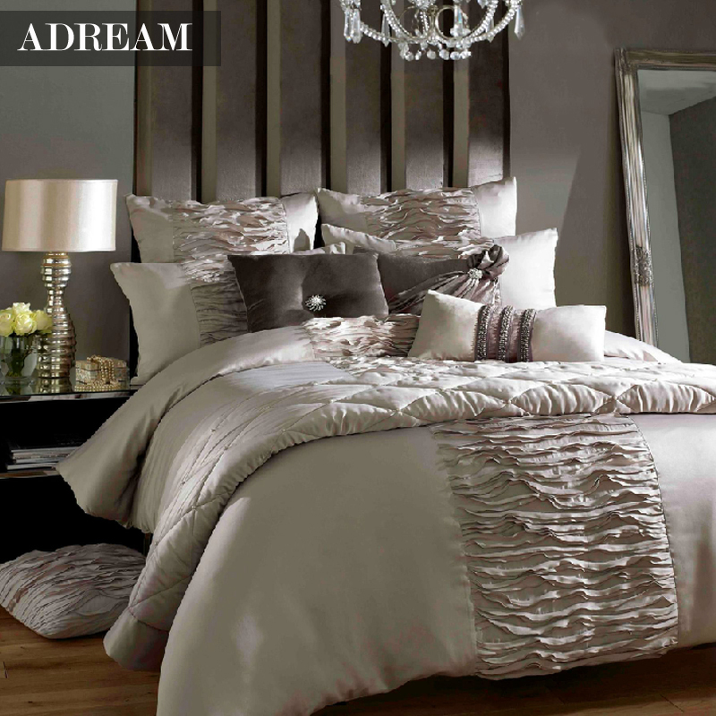 King Size White Duvet Set - results from brands Ambesonne, Superior, Royal Tradition, products like Loop Sateen Duvet Covers and Shams - Pure White, Ashley Navarre King Duvet Cover Set in White and Natural - QK, Peacock Alley PIQ-OKL-WHT White Pique