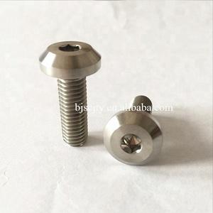 GR2 GR5 Ti6al4v m7 titanium bike bolt