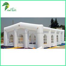 Giant White Inflatable House Tent , Customized Inflatable House Model Tent For Sale