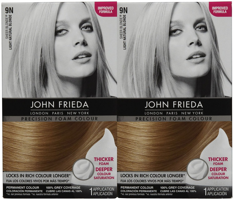 Buy John Frieda Precision Foam Hair Colour 9np Light Natural Pearl