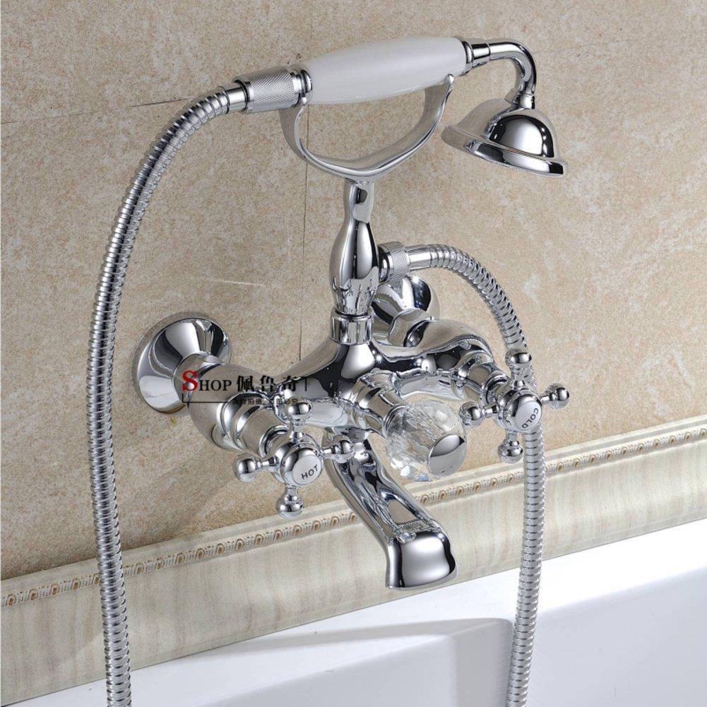 wall-mounted European style shower/bathroom bathtub faucets/Antique shower freestanding bathtub shower-A