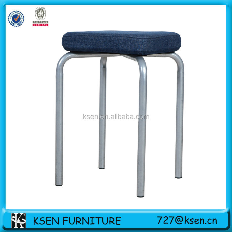 Padded Stackable Stool Chiar 7273