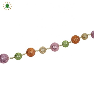 BALL BEAD GARLAND CHRISTMAS VALENTINES DAY DECORATION