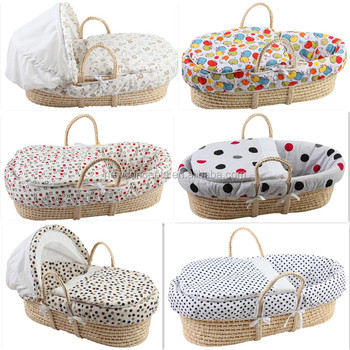 wholesale best quality straw woven moses basket baby. Black Bedroom Furniture Sets. Home Design Ideas