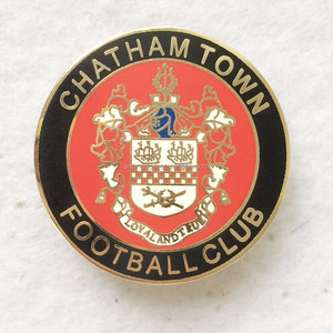 Custom design hard enamel town football metal pins gold plated lion in USA