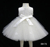 D9173 Beautiful Sequined Embroidery Flower Girl Dress with Lace