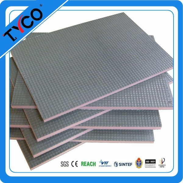 Waterproof and Soundproof Insulation Boards With Floor Heating