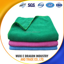 80% polyester and 20% polyamide OR 100% polyester manufacturer 350gsm microfiber cleaning towel
