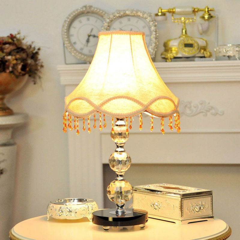 Home Good Lamps: Modern Home Goods Crystal Led Table Lamp
