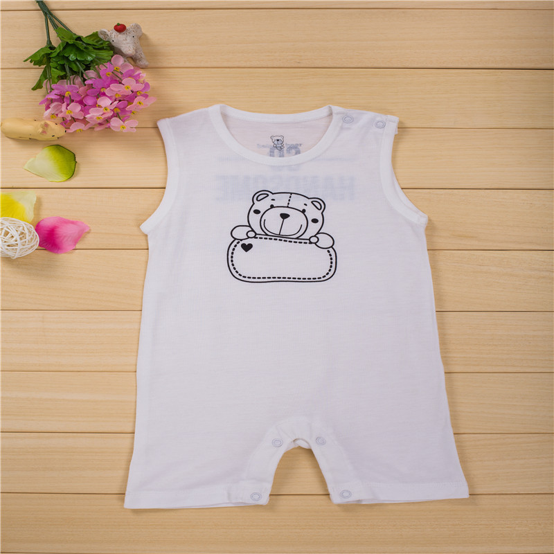 1 pieces bamboo fiber light and silky baby s clothing baby romperes jumpsuit newborn romper