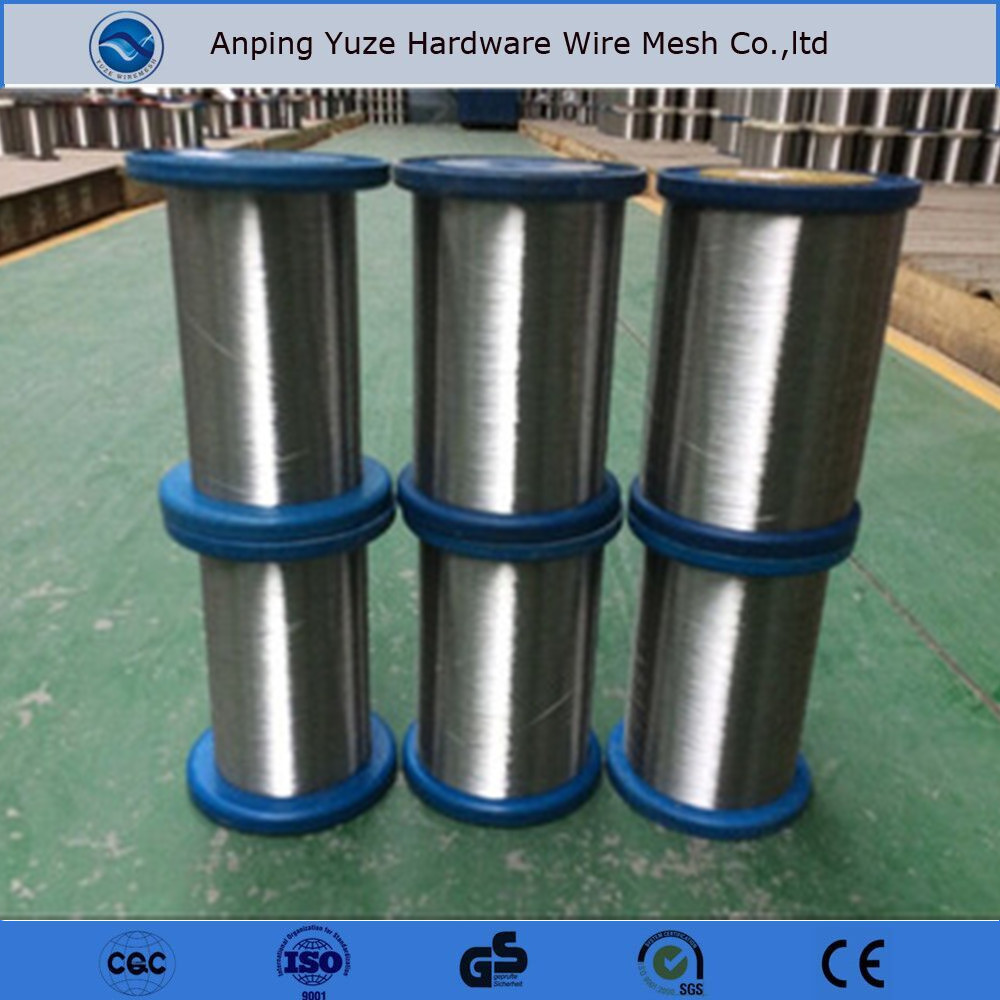 0.035mm stainless steel wire yarn for fabric textile to Canada