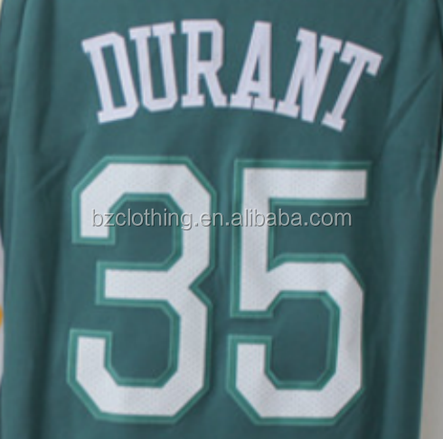 Golden State Kevin Durant #35 The Town Green Stitched National Basketball Jersey