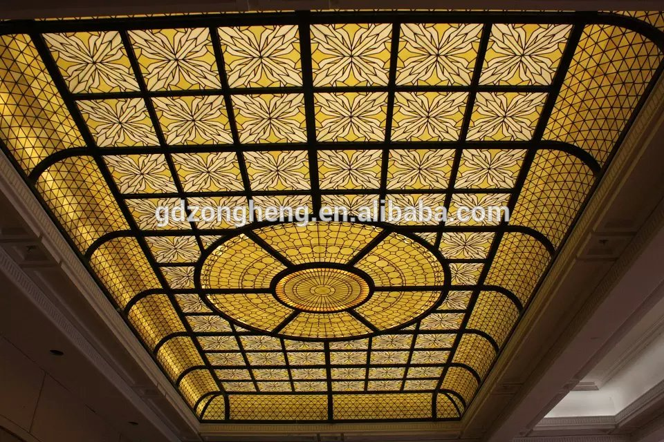 House interior simple bathroom - Cathedral Stained Glass The Price For Stained Glass Interior Ceiling