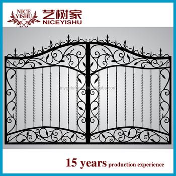 Luxury Cheap Modern Sliding Beautiful New Main Gate Pillars Design