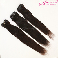 Homeage 100 human hair extension indian remy hair products, Hair natural hair extensions,100% 7a virgin indian hair