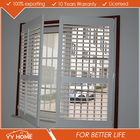 2016 Newest Style Office Wood Louvre Windows