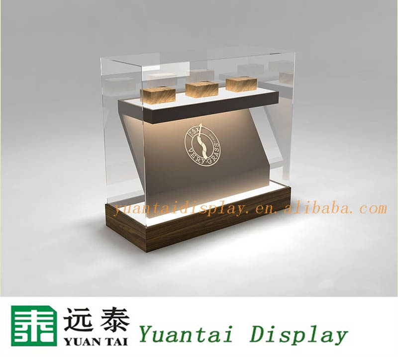 Chinese Manufacture Glass Furniture Shop Counter