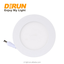Hot Sale High Lumen 24W Warm White Recessed Round Led Panel Light