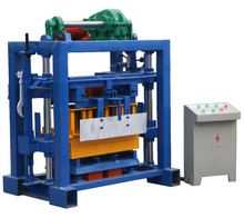 QTF40-2 small scale hollow brick block making machine price in sri lanka