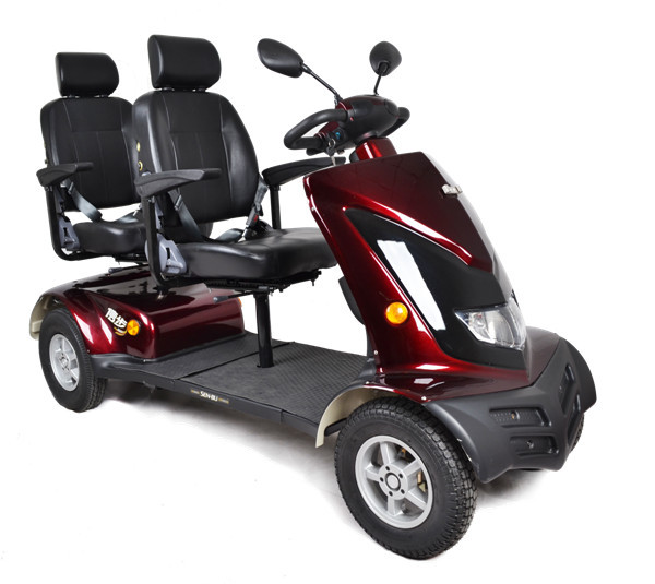 Two seat mobility scooter for adult buy 2 seat mobility for Motorized mobility scooter for adults